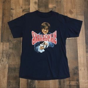 Vintage Austin Powers Shagadelic Shag T-Shirt